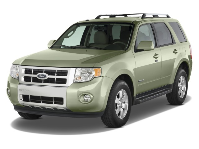 2009 Ford Escape 4WD 4-door I4 CVT Hybrid Limited Angular Front Exterior View