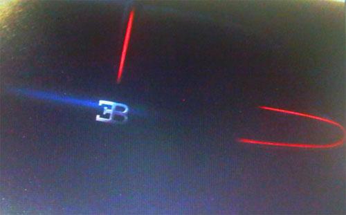 2009 Frankfurt Motor Show Bugatti teaser image