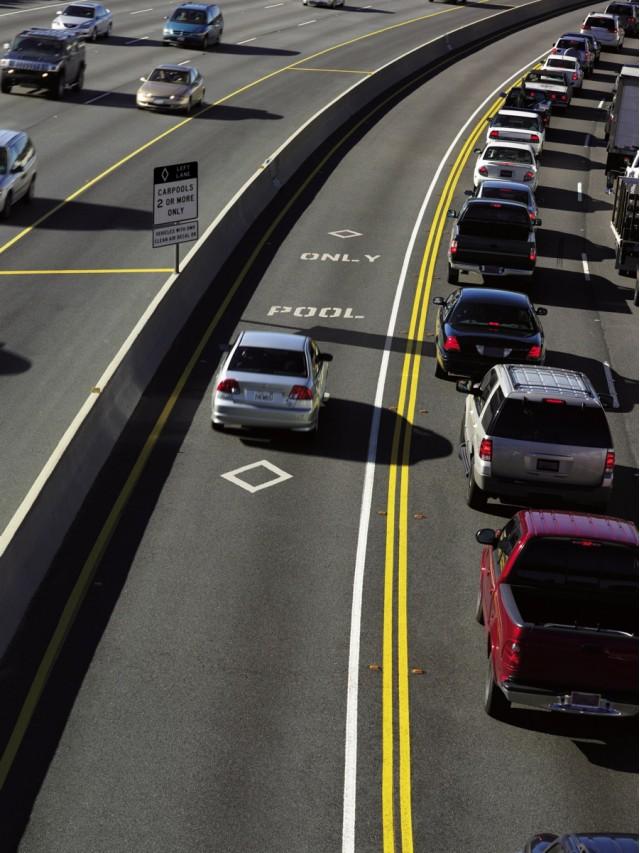 2009 Honda Civic GX, carpool lane