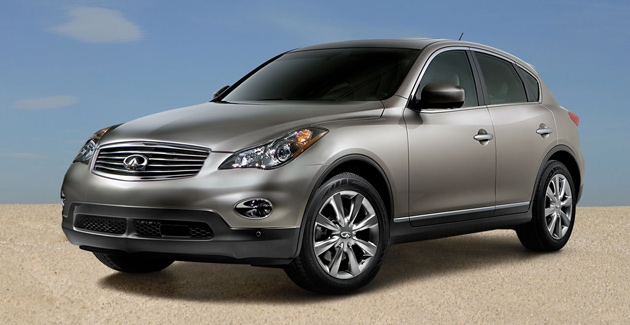 Poor sales of current EX have prompted Infiniti to update the model after just one year