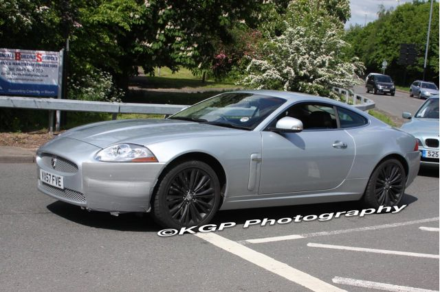 2009 Jaguar XK Spy Shots