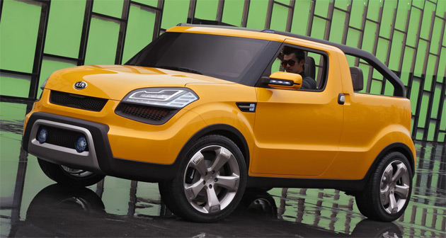 kia considers production of soul ster pickup. Black Bedroom Furniture Sets. Home Design Ideas