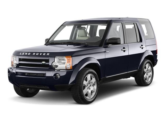 2009 Land Rover LR3 4WD 4-door V8 Angular Front Exterior View