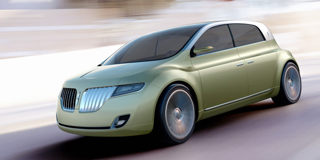This year's C Concept car provides a hint as to what a Lincoln compact car could look like