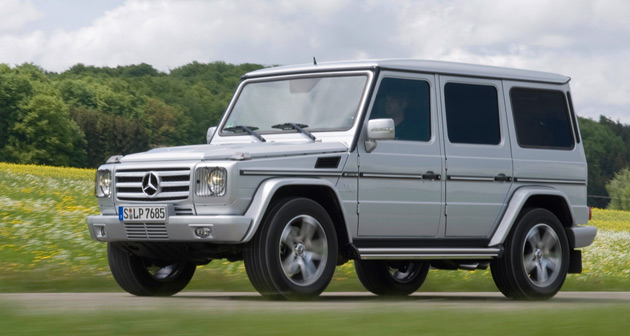 Mercedes benz g class will keep on truckin through 2015 for 2009 mercedes benz g class