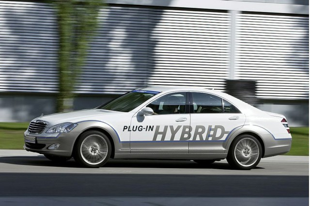 2009 Mercedes-Benz Vision S500 Plug-In Hybrid Concept