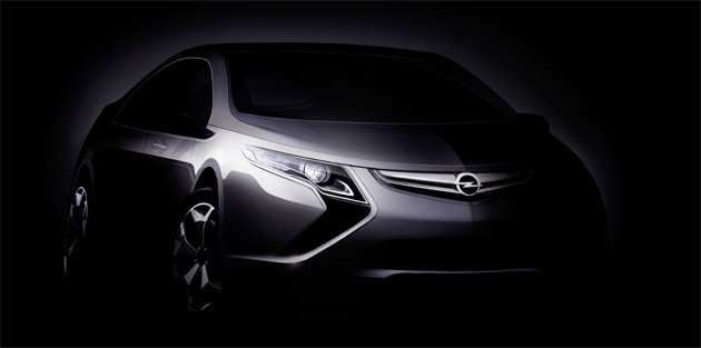 The new Ampera extended-range hybrid vehicle is essentially Opel's version of the Chevrolet Volt