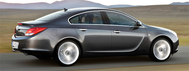 The Insignia has already proved a hit with the European press, and no one can deny its dashing looks