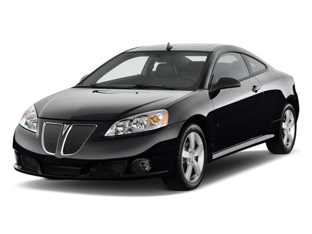 2009 Pontiac G6 2-door Coupe GT w/1SA *Ltd Avail* Angular Front Exterior View