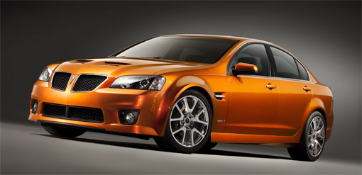 2009 Pontiac G8 GXP officially rated at 415hp
