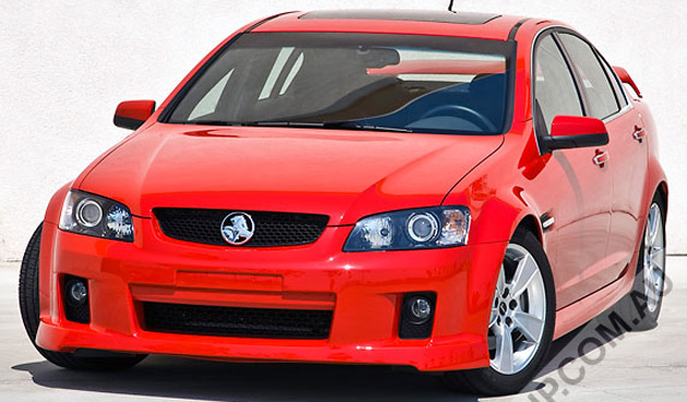 G8 owners will be able to switch to a Holden Commodore look or a more sporty HSV face