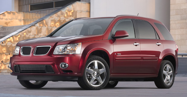 GM sold just 987 Pontiac Torrents last month – down 55.3% on February's figures for 2008