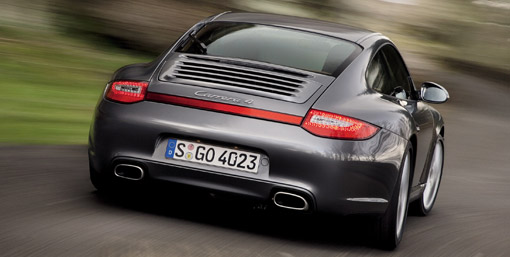 2009 Porsche 911 Carrera 4 and Carrera 4S facelift