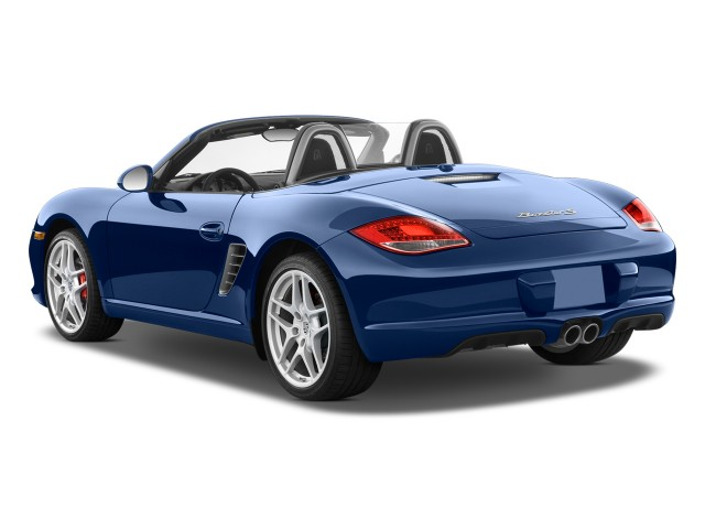 2009 Porsche Boxster 2-door Roadster S Angular Rear Exterior View