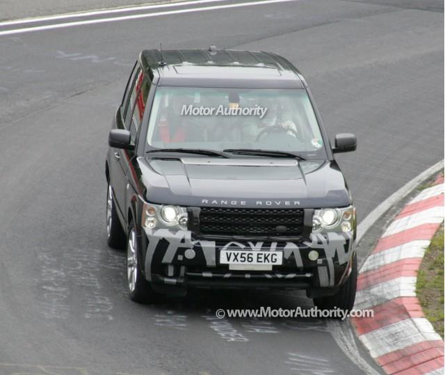 2009 range rover facelift spy shots nurburgring 001