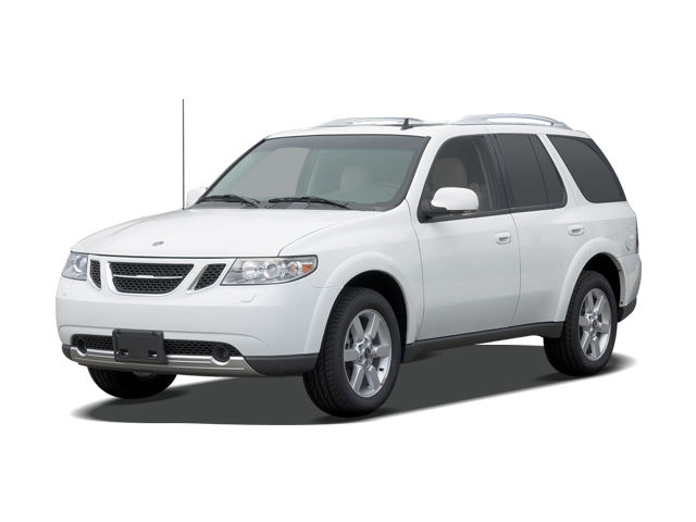 2009 Saab 9-7X AWD 4-door 5.3i Angular Front Exterior View