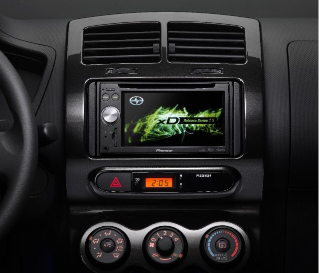 2009 Scion xD Release Series 2.0 - Pioneer Audio Visual Navigation head unit