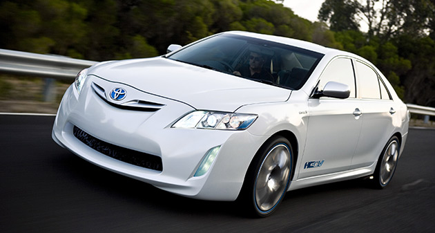 Toyota Hybrid Camry Concept Vehicle (HC-CV) is set to enter production in Australia early next year