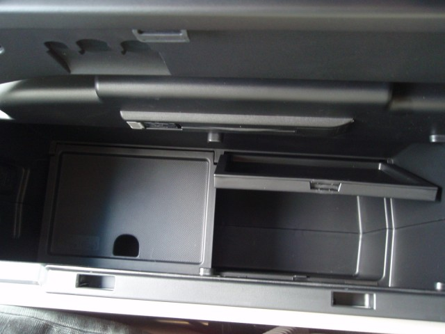 Center console false bottom