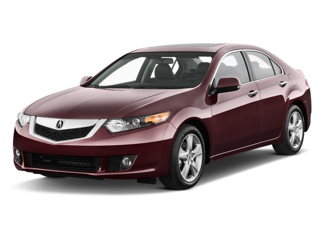 Angular Front Exterior View - 2010 Acura TSX 4-door Sedan I4 Auto