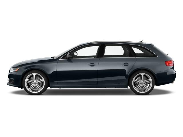 2010 Audi A4 4-door Wagon Auto 2.0T Avant quattro Premium Side Exterior View