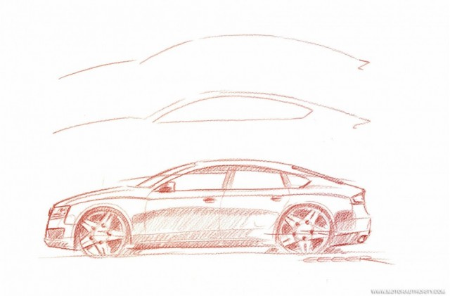 2010 Audi A5 Sportback sketch