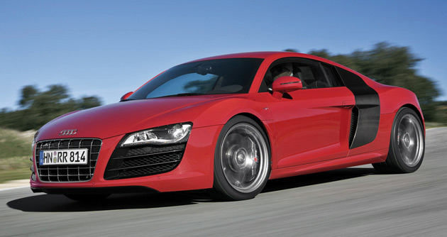 audi announces u s pricing for 2010 r8 including r8 v10. Black Bedroom Furniture Sets. Home Design Ideas