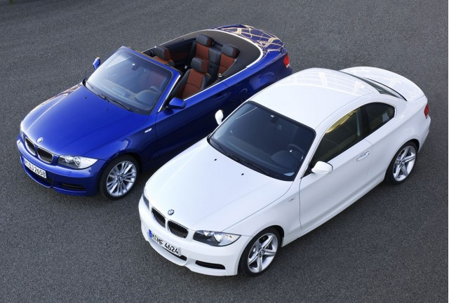 2010 BMW 135i Coupe and Convertible
