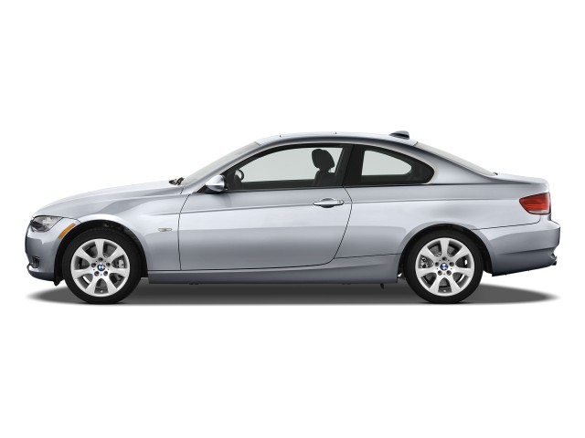 Side Exterior View - 2010 BMW 3-Series 2-door Coupe 335i RWD