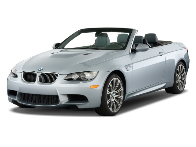 Angular Front Exterior View - 2010 BMW M3 2-door Convertible