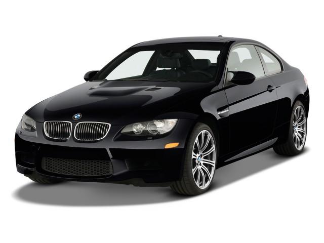 2010 BMW M3 2-door Coupe Angular Front Exterior View