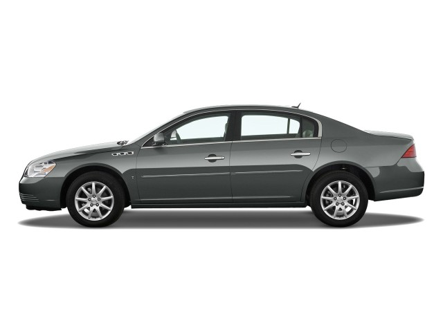 2010 Buick Lucerne 4-door Sedan CXL Side Exterior View