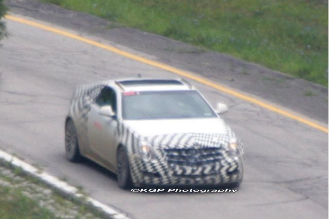 2010 Cadillac CTS Coupe Spy Shot