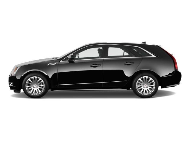 Side Exterior View - 2010 Cadillac CTS Wagon 5dr Wagon 3.6L Premium RWD