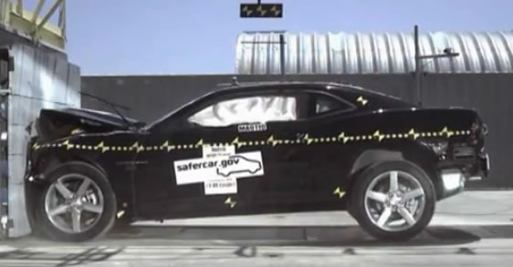 2010 Camaro Crash Test