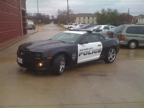 Camaro Ss Police Car On The Prowl In Haltom City Texas