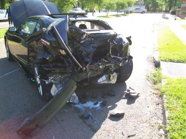2010 Camaro SS accident
