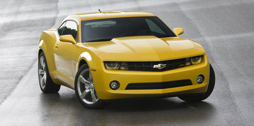2010 Chevrolet Camaro officially unveiled