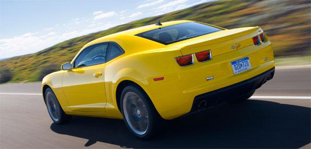 The 2010 Chevy Camaro is leveraging its eye-catching design into big-time sales
