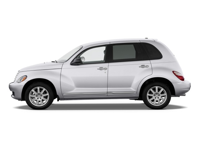 Side Exterior View - 2010 Chrysler PT Cruiser Classic 4-door Wagon