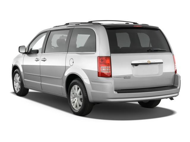 2010 Chrysler Town & Country 4-door Wagon Touring Angular Rear Exterior View
