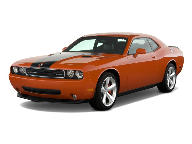 2010 Dodge Challenger 2-door Coupe SRT8 Angular Front Exterior View