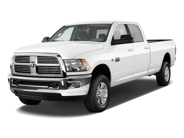 "2010 Dodge Ram 2500 4WD Crew Cab 169"" ST Angular Front Exterior View"