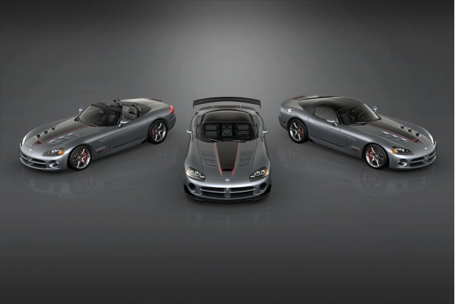 2010 Dodge Viper SRT10 Final Edition models