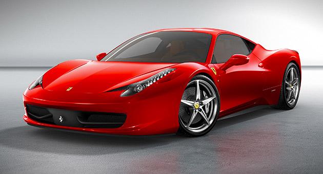 2010 Ferrari 458 Italia supercar