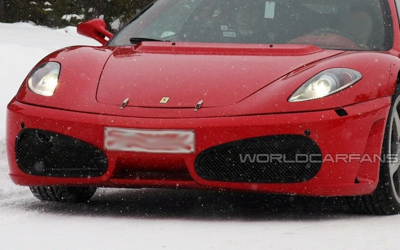 2010 Ferrari F450 spy shots