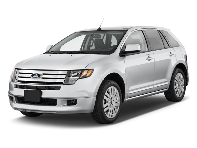 Angular Front Exterior View - 2010 Ford Edge 4-door Sport FWD