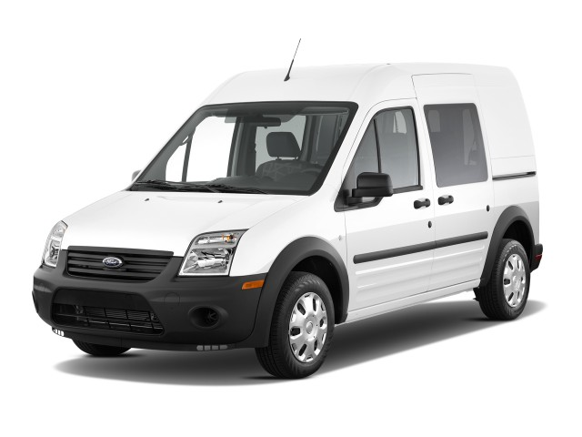 Angular Front Exterior View - 2010 Ford Transit Connect Wagon 4-door Wagon XL