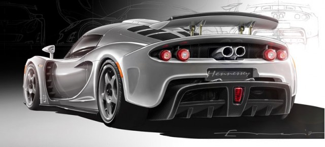 2010 Hennessey Venom GT Concept Preview Sketch
