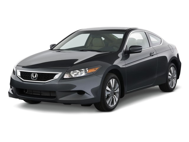 2010 Honda Accord Coupe 2-door I4 Auto EX-L Angular Front Exterior View